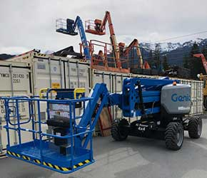 Contractor Rentals in Whistler, Squamish, & Pemberton BC