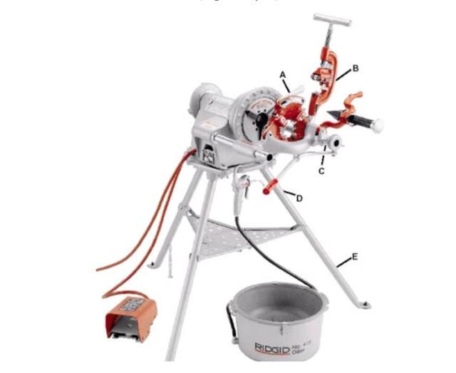Where to find RIDGID 300 PIPE THREADER in Whistler