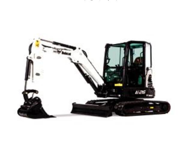 Where to find MINI EXCAVATOR, BOB E26 in Whistler