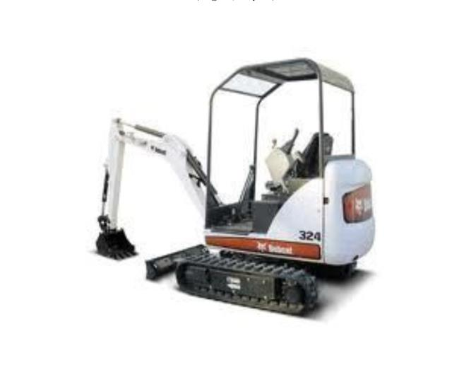 Where to find MINI EXCAVATOR, BOB 324 in Whistler