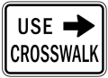 Where to rent TRAFFIC SIGN USE CROSSWALK in Whistler BC