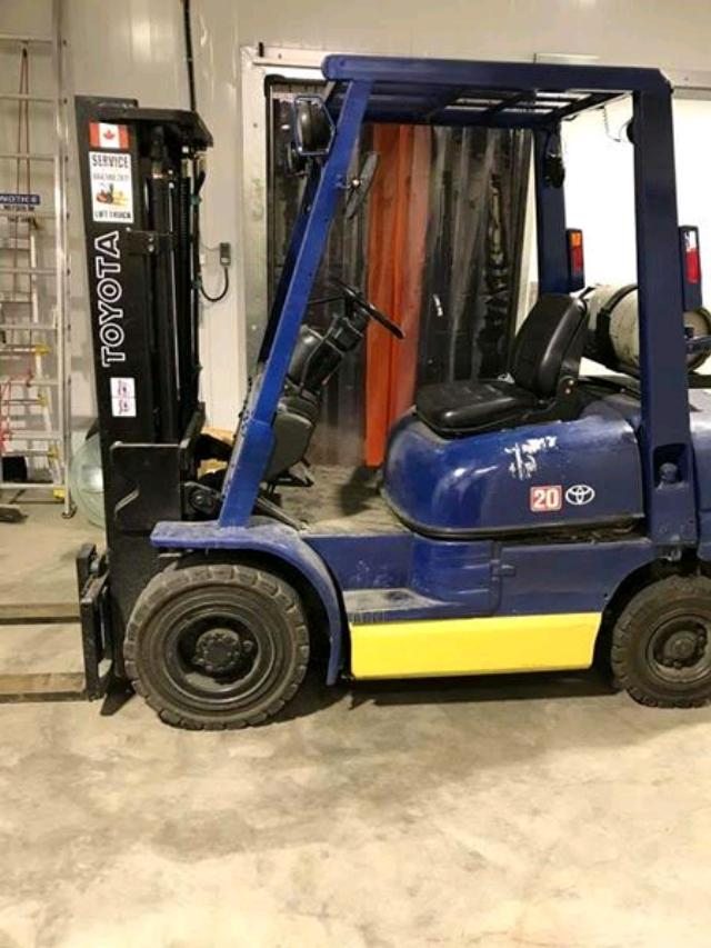 Where to find FORKLIFT, WAREHOUSE 4000LB LPG in Whistler