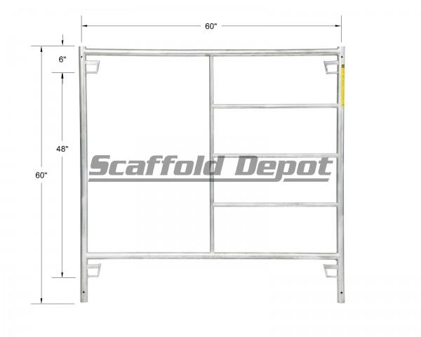 Where to find FRAME SCAF GALV RED 5 X5 in Whistler